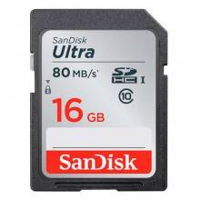 Sandisk SDSDUNC-016G-GN6IN 16GB SDHC UHS-I Class 10 memoria flash