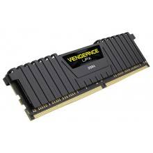 MEMORIA CORSAIR DDR4 16GB 2X8GB PC3000 VENGEANCE LPX BLACK SERIES
