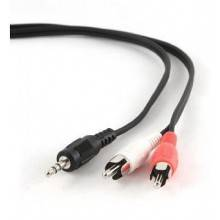 CABLE AUDIO GEMBIRD CONECTOR 3,5MM A RCA 5M