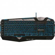 TECLADO GAMING THE G-LAB KEYZ300/SP RETROILUMINADO CABLE USB NEGRO