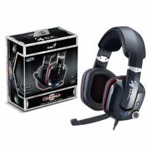 AURICULAR GAMING GENIUS HS G700V NEGRO MICROFONO ALAMBRICO VIRTUAL 7,1