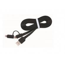 CABLE USB GEMBIRD USB 2.0 A MICRO USB O LIGHTNING 1M