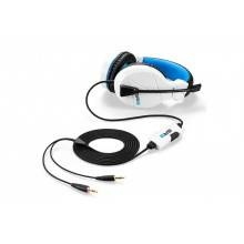 AURICULARES SHARKOON RUSH ER3 BLANCO MICROFONO ALAMBRICO