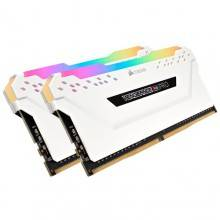 MEMORIA CORSAIR DDR4 16GB 2X8GB PC 3200 VENGEANCE RGB PRO WHITE