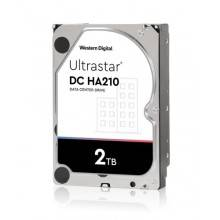 WD ULTRASTAR DC HA210  3.5´´ 26.1MM 2000GB (2TB) 128MB 7200RPM SATA ULTRA 512N SE DC HA210  HUS722T2