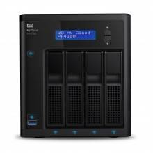 Western Digital My Cloud PR4100 Ethernet Escritorio Negro NAS