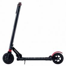 "Billow URBAN85 Patin 4400mAp 8"" Negro-Rojo"