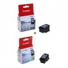 Canon Cartucho Pack PG512+CL513
