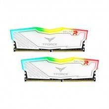 MODULO DDR4 16G (2X8GB) PC2400 TEAMGROUP DELTA R WH