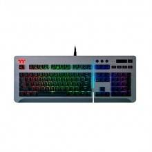 TECLADO MECANICO THERMALTAKE LEVEL 20 RGB TITANIO