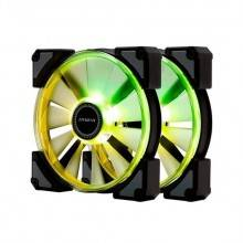 VENTILADOR 120X120 IN WIN CROWN ARGB PACK 2UD