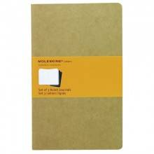 MOLESKINE CAHIER JOURNAL GRANDE. DE RAYAS. MARRON KRAFT