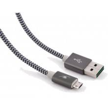 CABLE USB(A) A MICRO USB(B) BLUESTORK TRENDY
