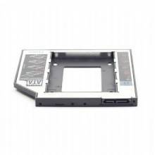 "BASTIDOR GEMBIRD HD SATA 2,5"" A 5,25\"" SLIM PC DVD RW 9,5MM"