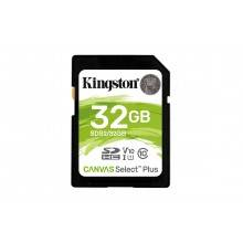 Kingston Technology Canvas Select Plus memoria flash 32 GB SDHC Clase 10 UHS-I