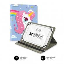 SUBBLIM Funda Tablet Universal TRENDY CASE UNICORN 10.1""