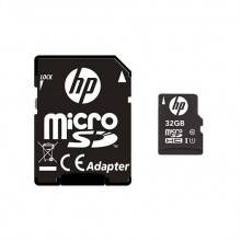 MEM MICRO SDHC 32GB HP CL10 U1 NEGRO+ADAPTADOR SD