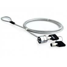 CABLE DE SEGURIDAD NATEC LOBSTER 1.8 M PARA PORTATIL CON LLAVE