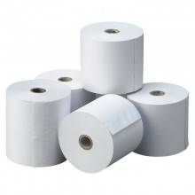 Rollo Papel Trmico 80X80X12 MM Pack 6 Uds sin BPA