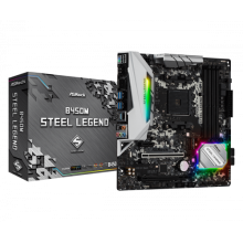 Asrock B450M Steel Legend Zcalo AM4 Micro ATX AMD B450