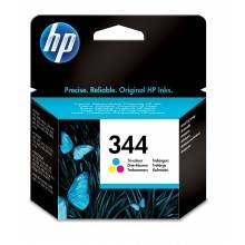 Hp Cartucho De Tinta Original 344 Tri-Color