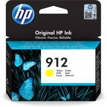HP 912 Original Amarillo 1 pieza(s)