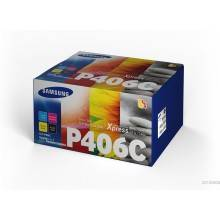 TONER PACK 4 COLORES (CMYK) HP CLT-P406C