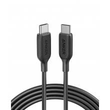 CABLE USB 2.0 ANKER POWERLINE III TIPO C MACHO A TIPO C MACHO 1,8M NEGRO