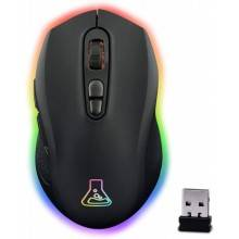 THE G-LAB ILLUMINATED RGB GAMING MOUSE WIRELESS RECARGABLE 2400 DPI (KULT-NEON)