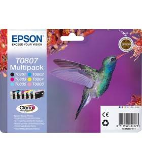 Epson Multipack T0807 6 Colores