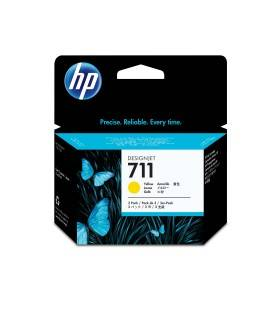 HP 711 PACK 3 CARTUCHOS DE TINTA HP711 AMARILLO (CZ136A)