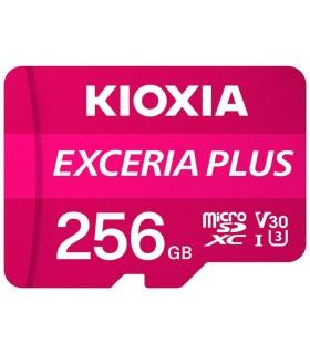 MICRO SD KIOXIA 256GB EXCERIA PLUS UHS-I C10 R98 CON ADAPTADOR